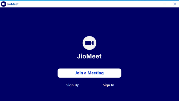 jio meet for pc