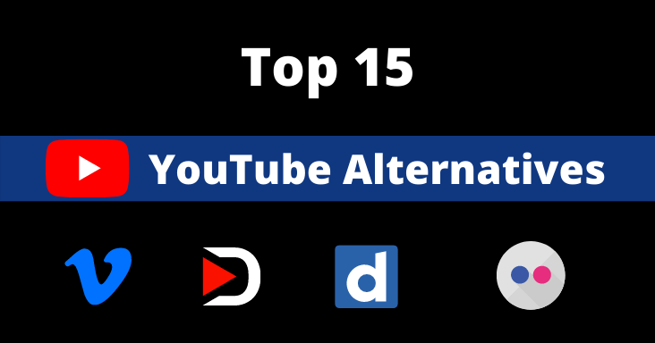 Top 15 YoutTube Alternatives